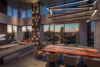 luxury 1 bed in the newest construction in lic resort living no