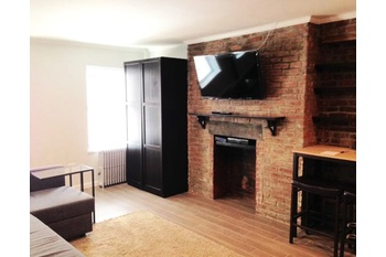 Beautifully renovated studio steps from the 7/A/C/E/1/2/3 subway trains and Penn Station!